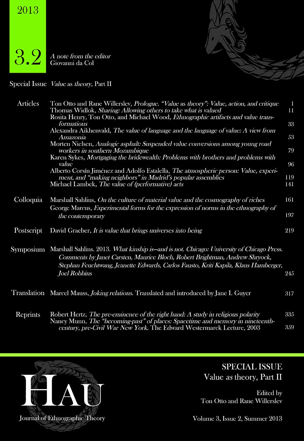 HAU Vol 3.2