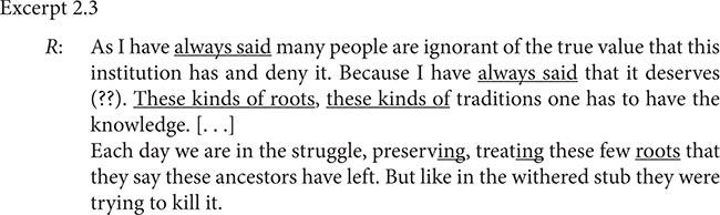 Excerpt 2.3